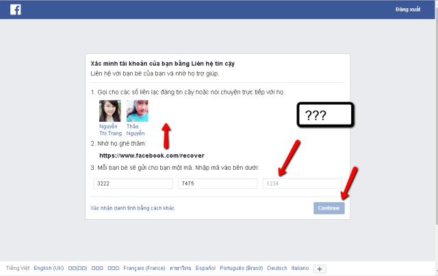 Làm sao để mở khóa tài khoản facebook?