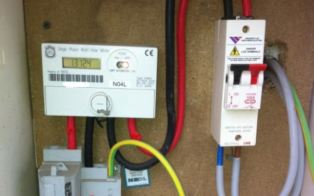 I installed a electricity meter in someone's property can I force entry to get it back due to them not paying Example photo of the meter?