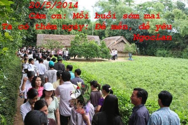 Khc 20/05/2014: THĂM LÀNG SEN (Ký)?