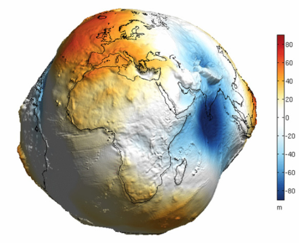 Is the earth actually a wonky circle shape?