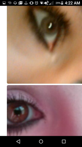 Do my grey or brown eyes look better?
