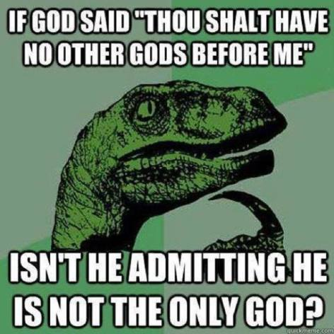 How many gods actually exist?