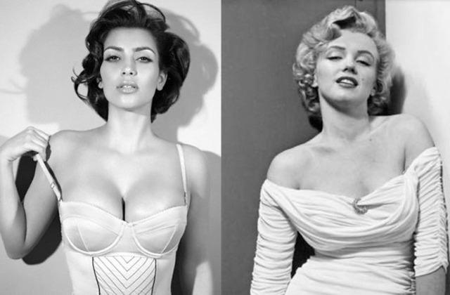 Is Kim Kardashian the 'Marilyn Monroe' of our time?