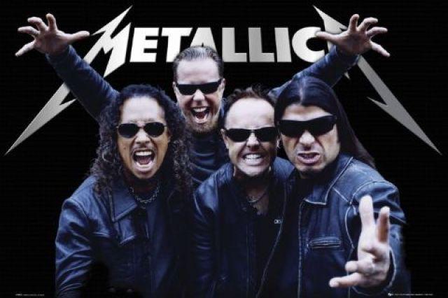 Você também gosta da banda Metallica?