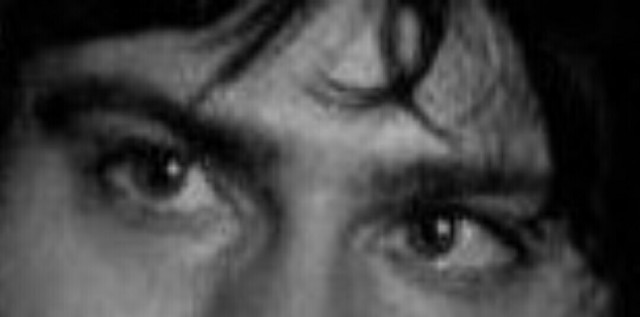 Hey! I'm doing a research on people's expressions. Can you tell me the emotions which comes to you when you look at these eyes?