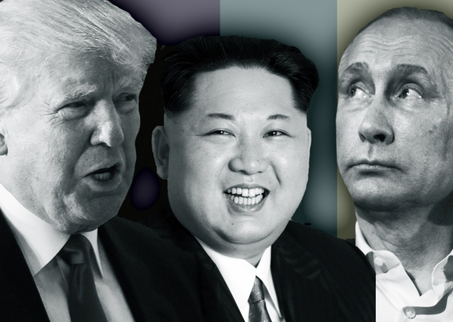 Why does Kim Jung Un and Vladimir Putin both support Donald Trump?