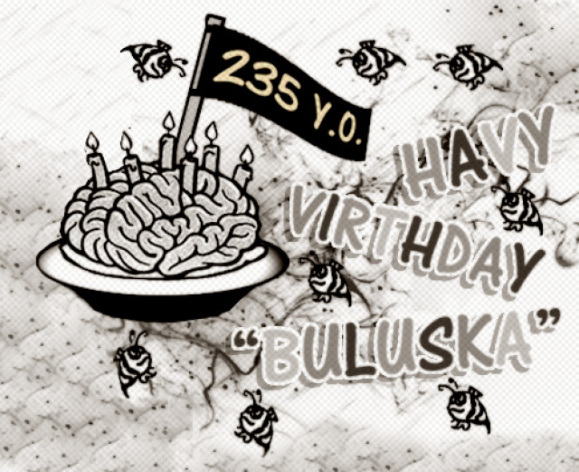 Betewe... @Buluska habis ulang tahun ya?