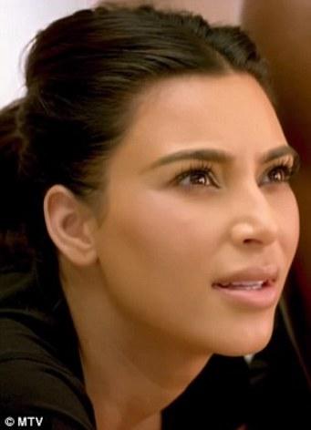 What is going through Kim Kardashian's mind?