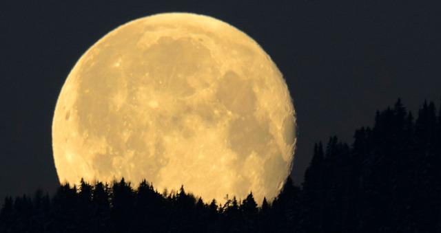 ¿Ya vieron la luna?