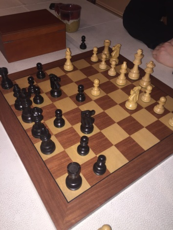 How to win this match of chess?