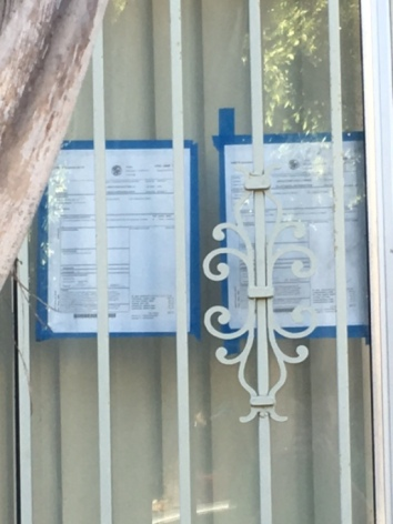 What are these notices about?