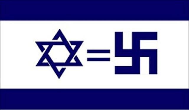 Israel = Nazi! Solidarity to Intifada!?