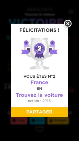 Oulala.... Numéro 2 français.... Eeeeet 15eme mondial..... On dit quoi?