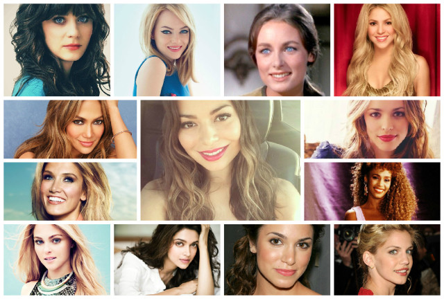 Most Beautiful Celebrities - Opinions! Rank 1-5 preference?