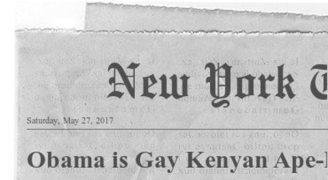 Obama is Gay Kenyan Ape. Report proves it?