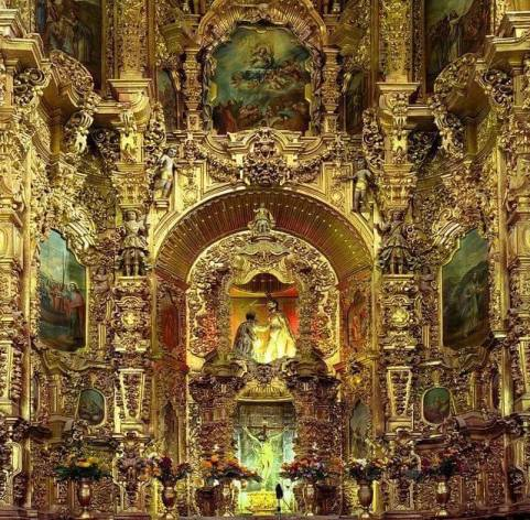 Ne trouvez-vous pas le décor de cette église un peu trop janséniste?