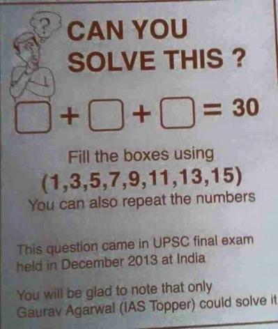 Solve this puzzle ques plz?