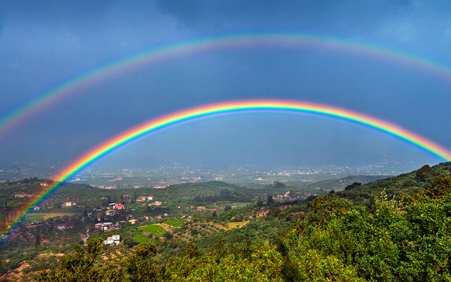When was the last time you seen a rainbow in real life 🌈?