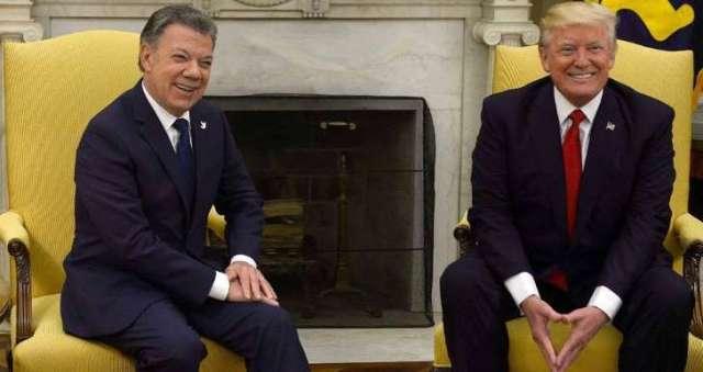 ¿Es inminente una guerra entre Colombia y Venezuela segun trump apoya a santos y a Colombia?