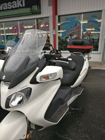 First motorcycle/scooter?