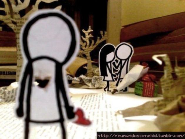 Você já sofreu de amor não correspondido?