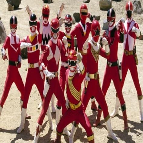 Qual Power Rangers voce queria ser quando era criança ?