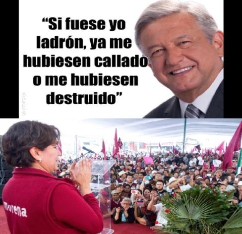 ¿Por que el Pri de EPN mandó al Estado de México a Chong, Narro, Nuño y Robles a repartir migajas a cambio de votos, que ridículos no....?