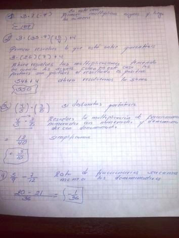 ¿Como son y como se resuelven las operaciones con numeros reales de aritmetica?