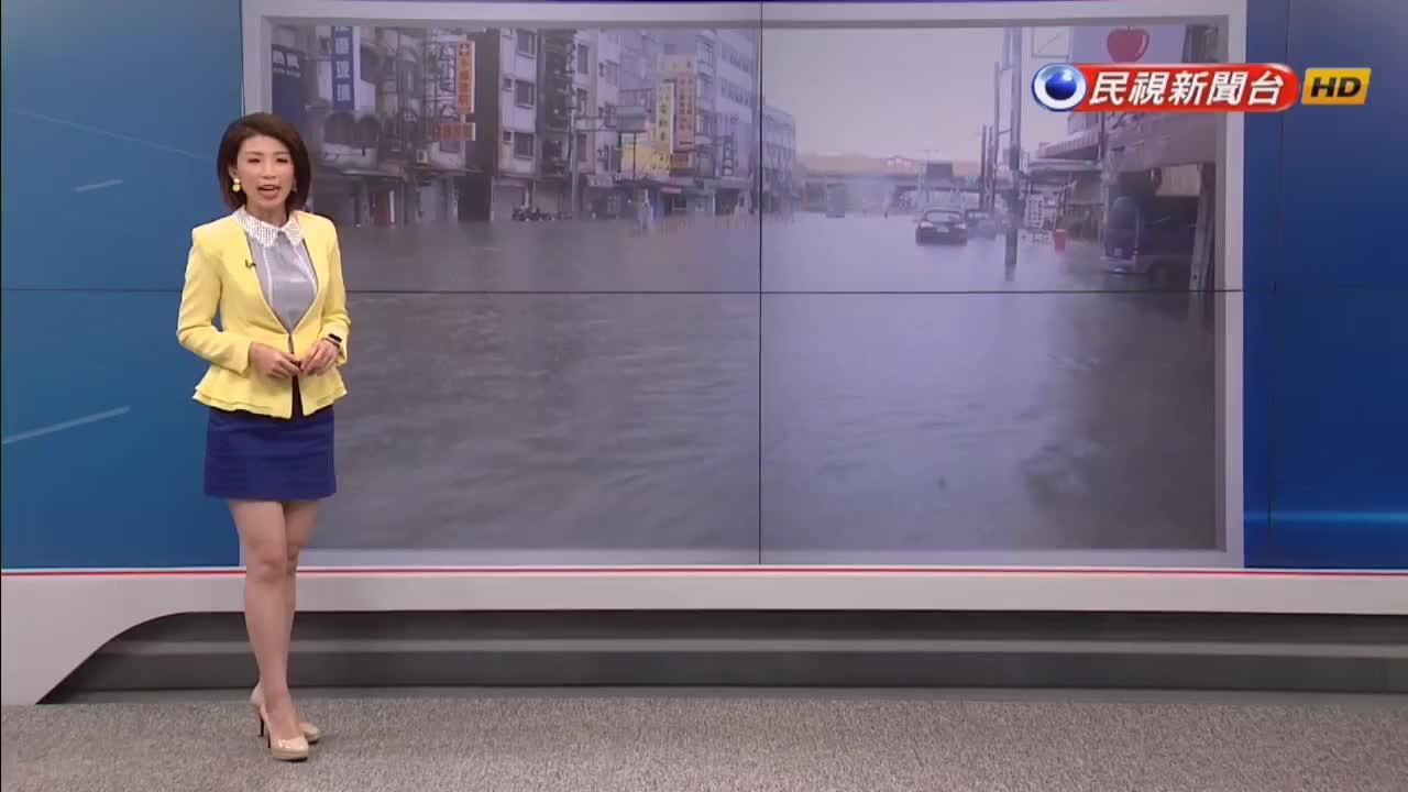 南部大雨下到周三!颱風「白鹿」周四恐形成