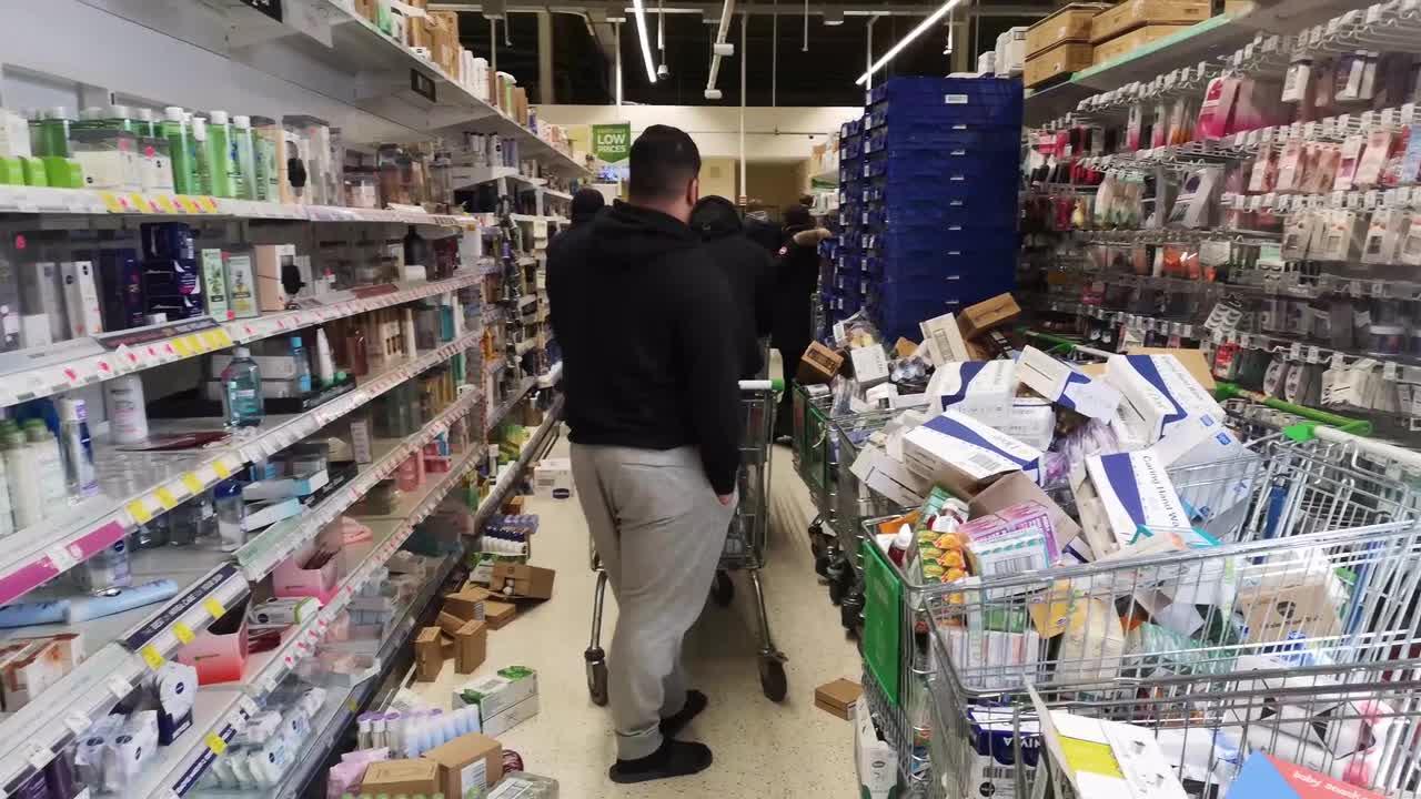 Coronavirus Supermarkt