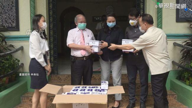 封城難買口罩 菲律賓台灣同鄉會捐助