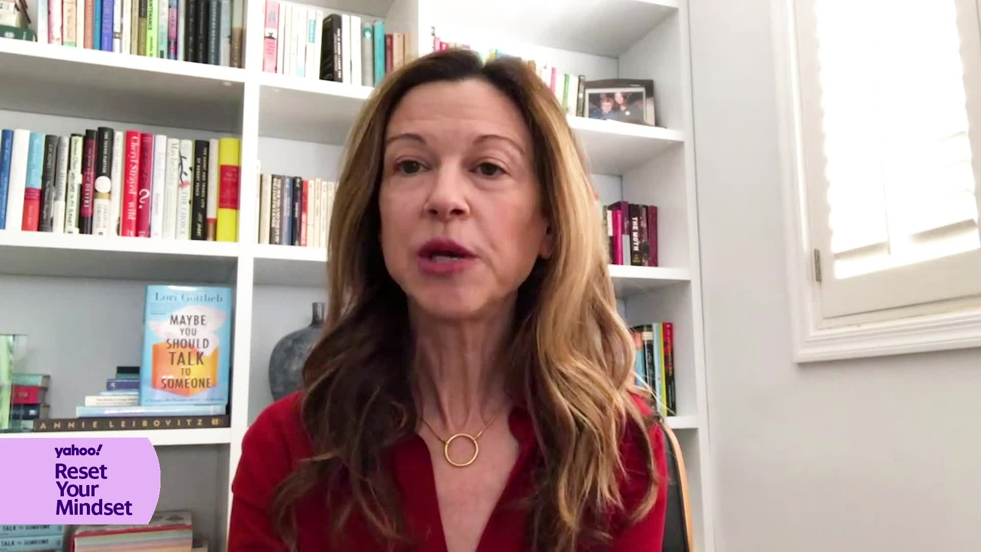 Lori Gottlieb reveals how to reset your mindset during the ...