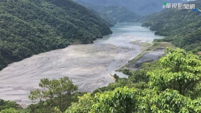 梅雨帶水來 中南部水庫淤積難蓄水