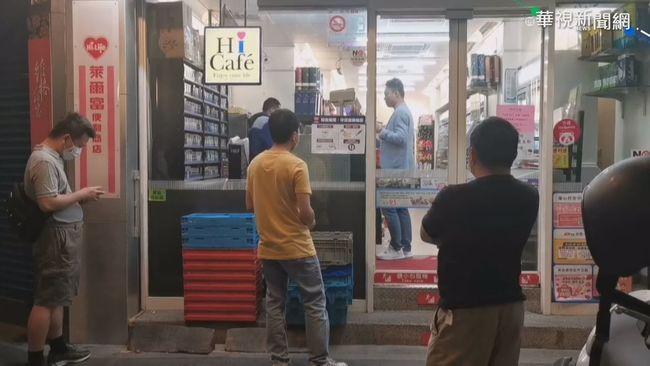 四大超商開賣口罩 凌晨出現排隊人潮