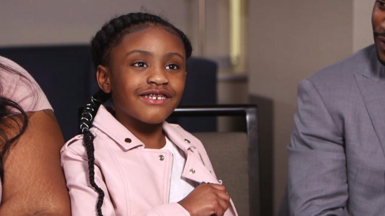 George Floyd's 6-year-old daughter opens up about her dad