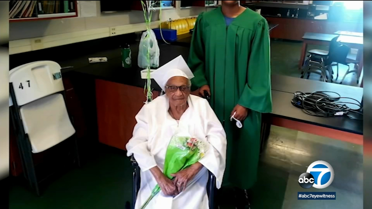 98-year-old woman graduates from Monrovia High School [Video]