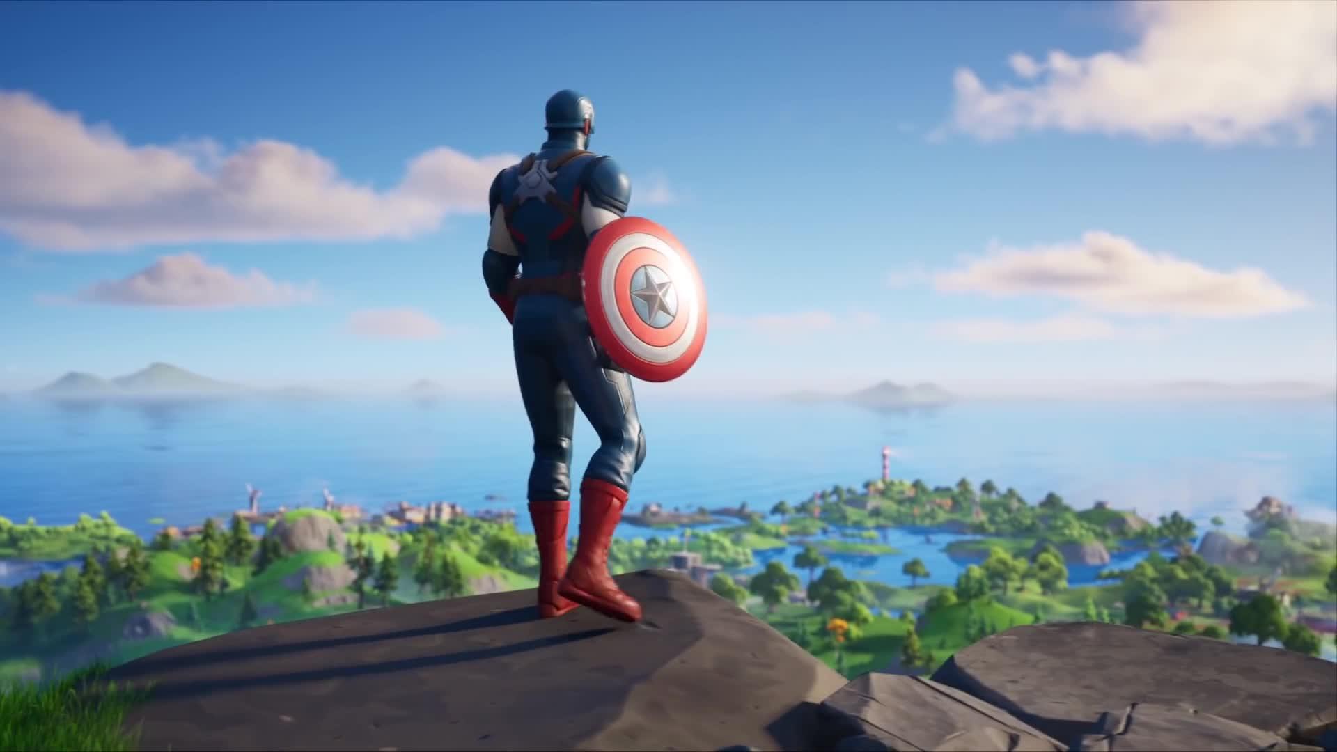 Fortnite Captain America Trailer