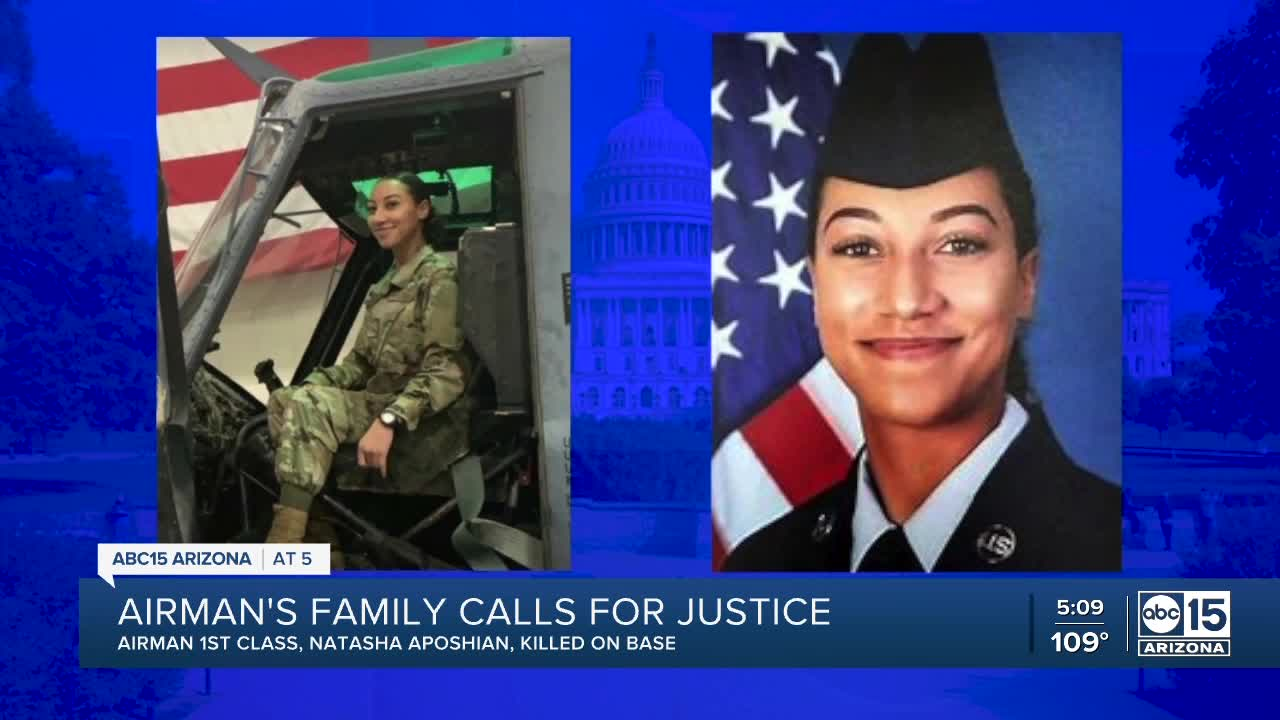 Phoenix Mom Hopes Congress Will Investigate The Death Of Her Daughter A U S Airman Video