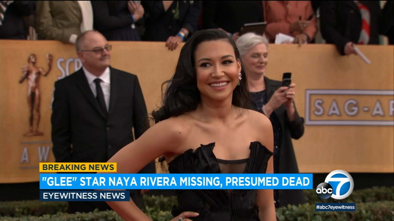 Actress Naya Rivera Known For Glee Missing After Going Boating On Lake Piru Video