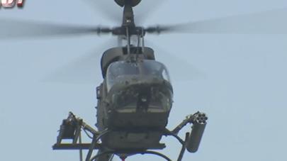 OH58D戰搜直升機三年三事故 陸軍暫停任務派遣先安檢