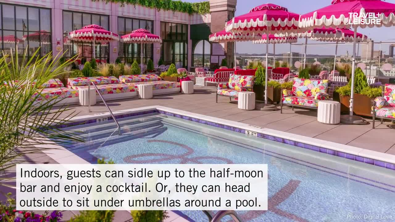 A Dolly Parton Themed Rooftop Bar Just Opened In Nashville And It S A Whimsically Pink Paradise