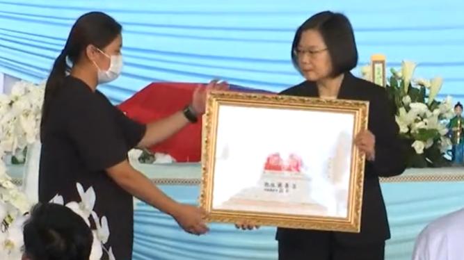 陸軍2殉職飛官公祭 蔡總統頒褒揚令