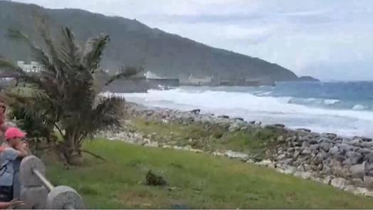 哈格比海警 台東往返綠島蘭嶼船班取消