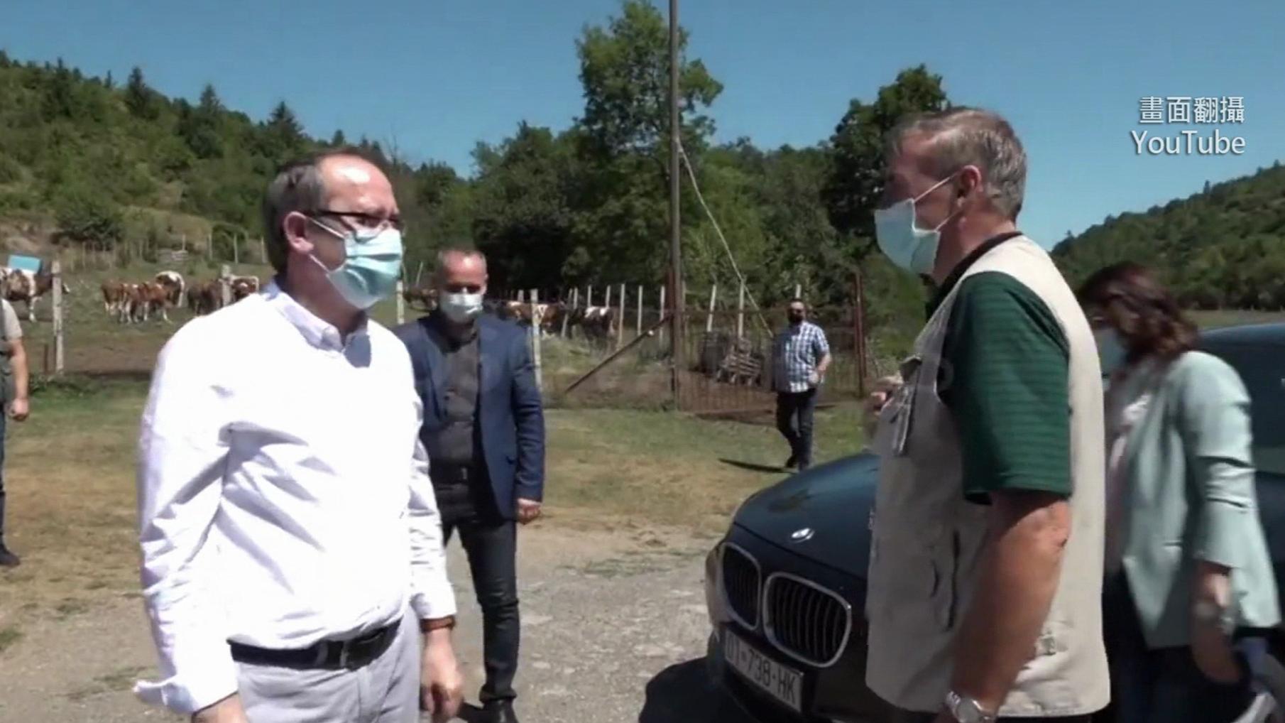 科索沃總理自曝染疫!報平安「僅輕微咳嗽」