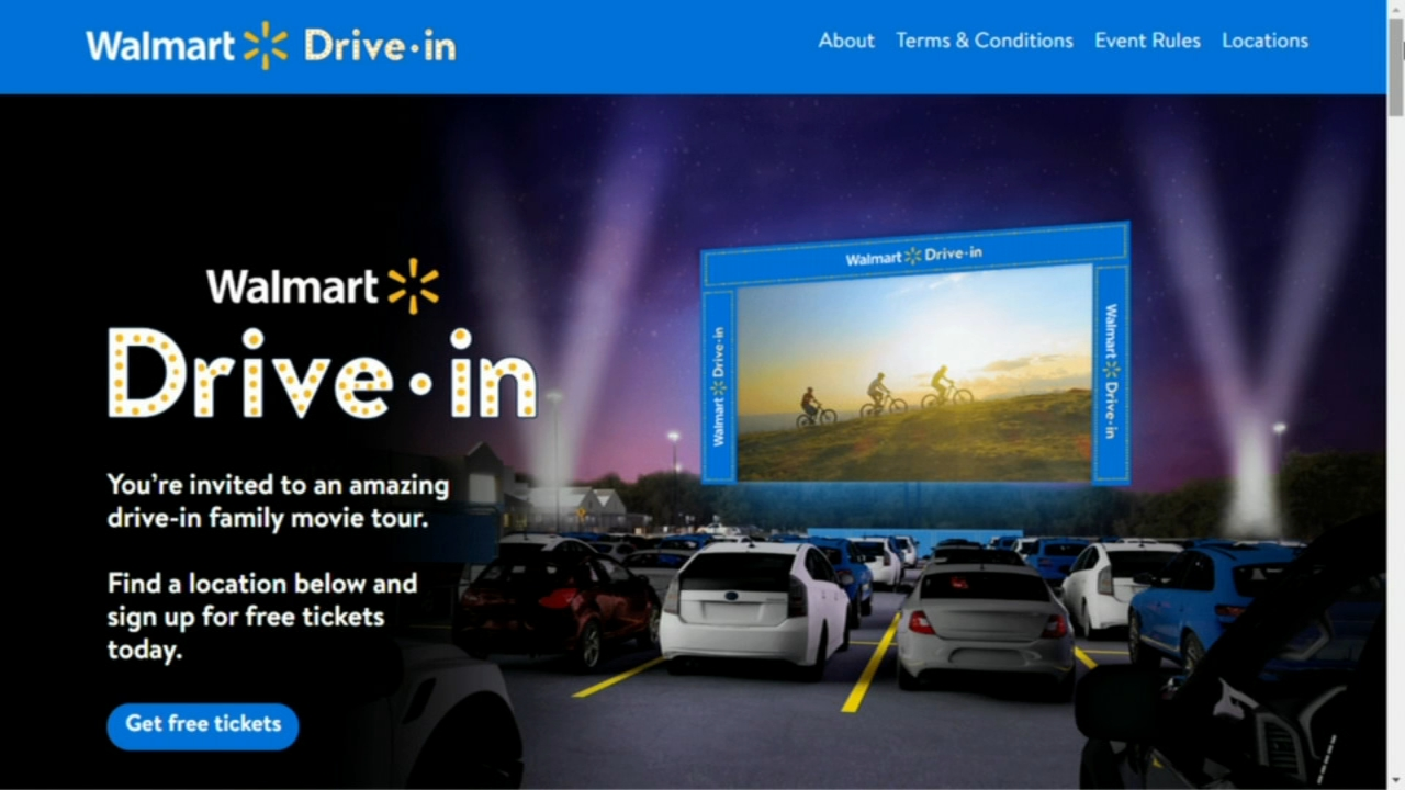 Walmart Just Revealed Which 160 Locations Are Being Turned Into Drive In Movie Theaters