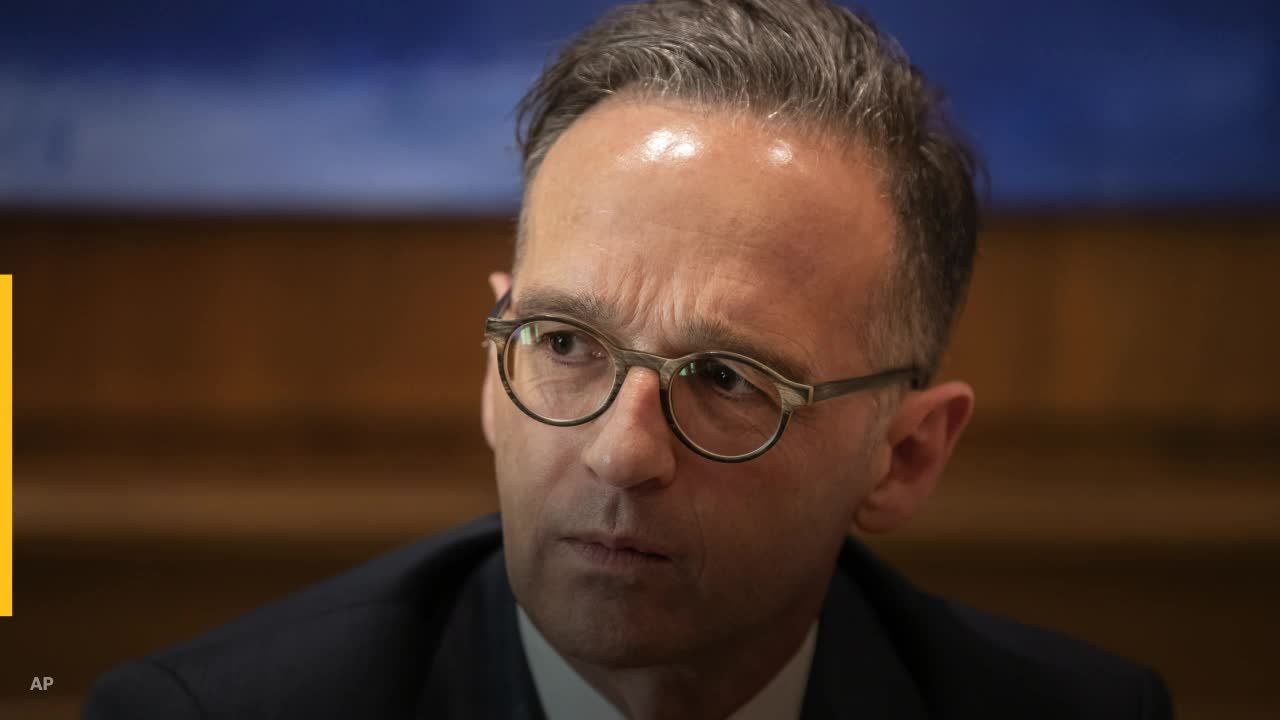 German Foreign Minister Heiko Maas confronts Pompeo over pipeline sanctions