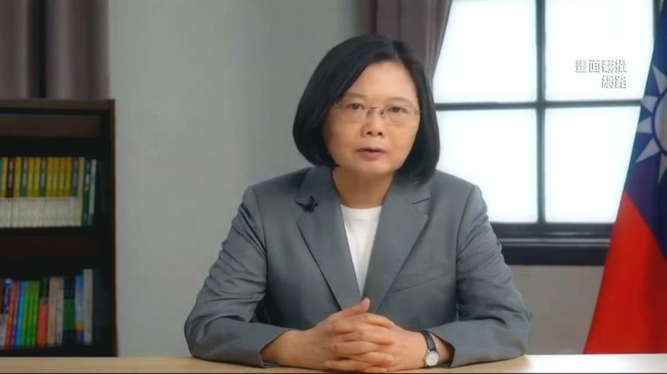 蔡總統華府智庫視訊演講 蕭美琴隔海助陣!