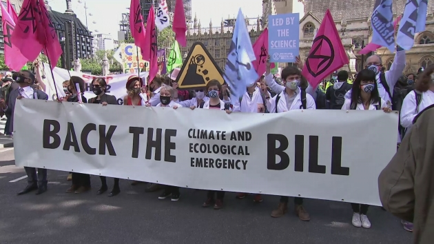 Extinction Rebellion demand climate emergency bill [Video]