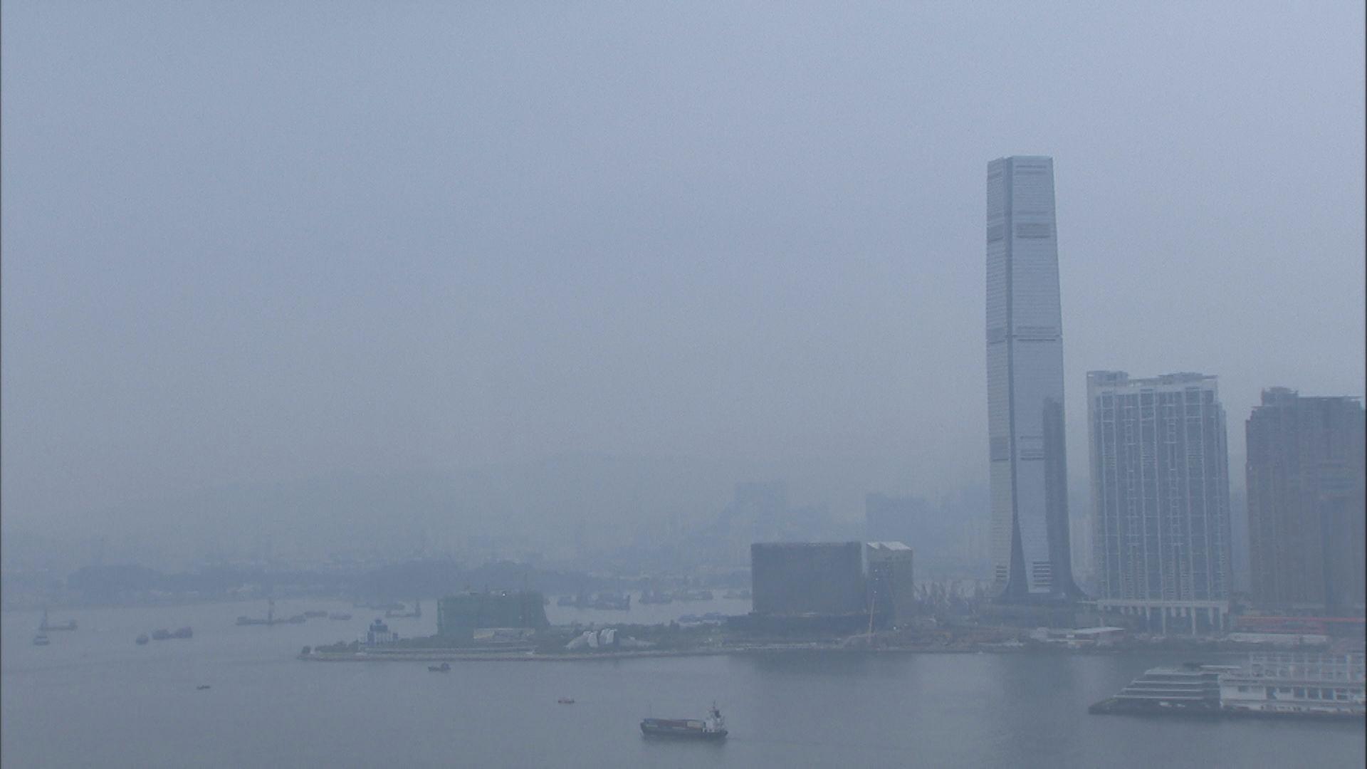 環保署:部分地區空氣質素健康指數或達「嚴重」水平