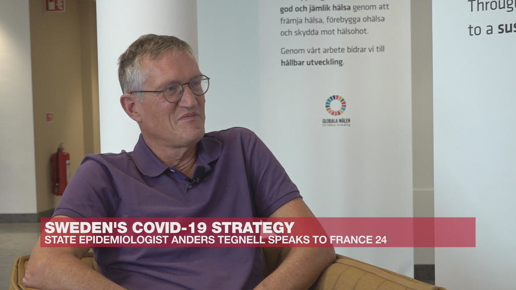 Sweden S Chief Epidemiologist We Are Happy With Our Strategy On Covid 19 Video